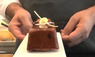 Tentazione d'autunno… Cake ai marroni e arancia canditi